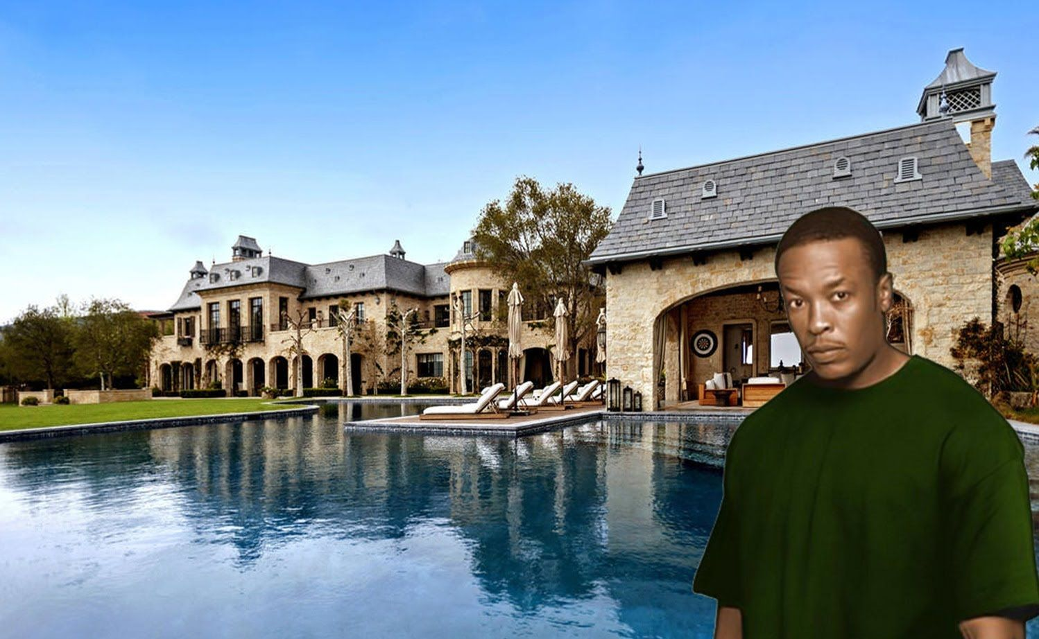 Dr Dre S House 2016 35 Million Inside Outside Inside