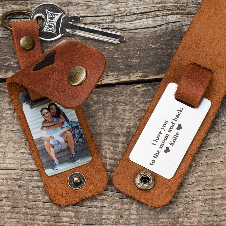Boyfriend gift personalized keychain for boyfriend couples