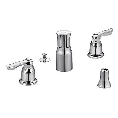 Moen TL5265 Chateau Two-Handle Bidet Faucet, Chrome >>> Click image for more details.