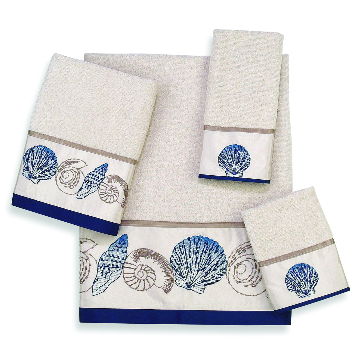 Avanti Hampton Shells Towels Are Perfect For Your Beach Home