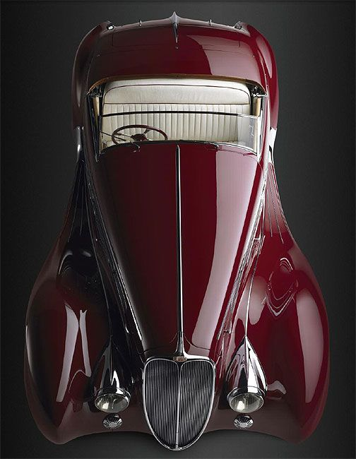 1939 Delahaye Type 165 Cabriolet Scale Model by Minichamps