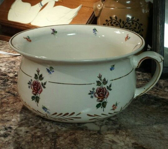 Chamber Pot With Made In England 5014 On Bottom My Stuff