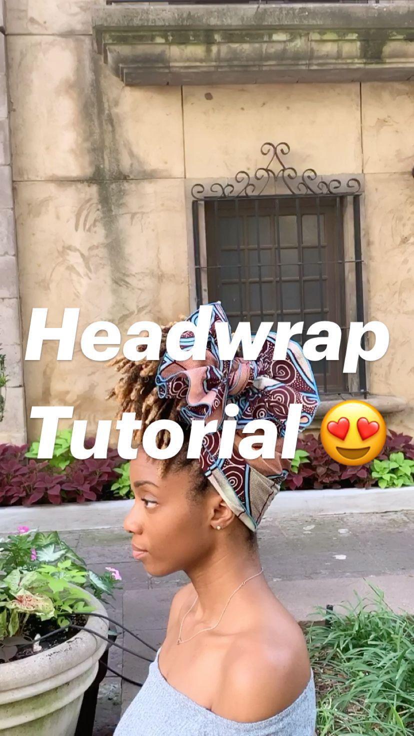 Headwrap Tutorial 😍