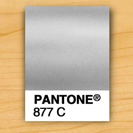 Swatch Pantone C  Metallic Silver  Getting Hitched