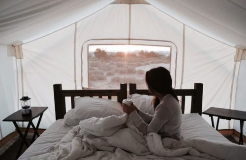 morning, coffee, and travel-bilde