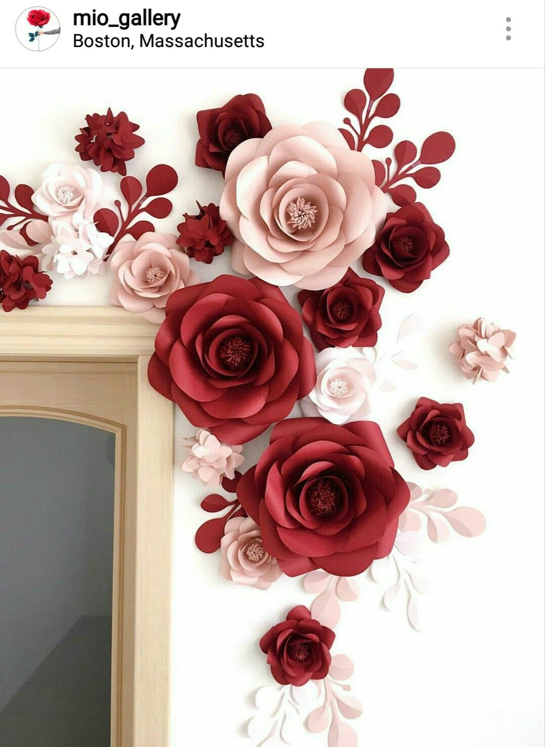 Flores De Papel Paper Flower Backdrop Ideas Pinterest Paper