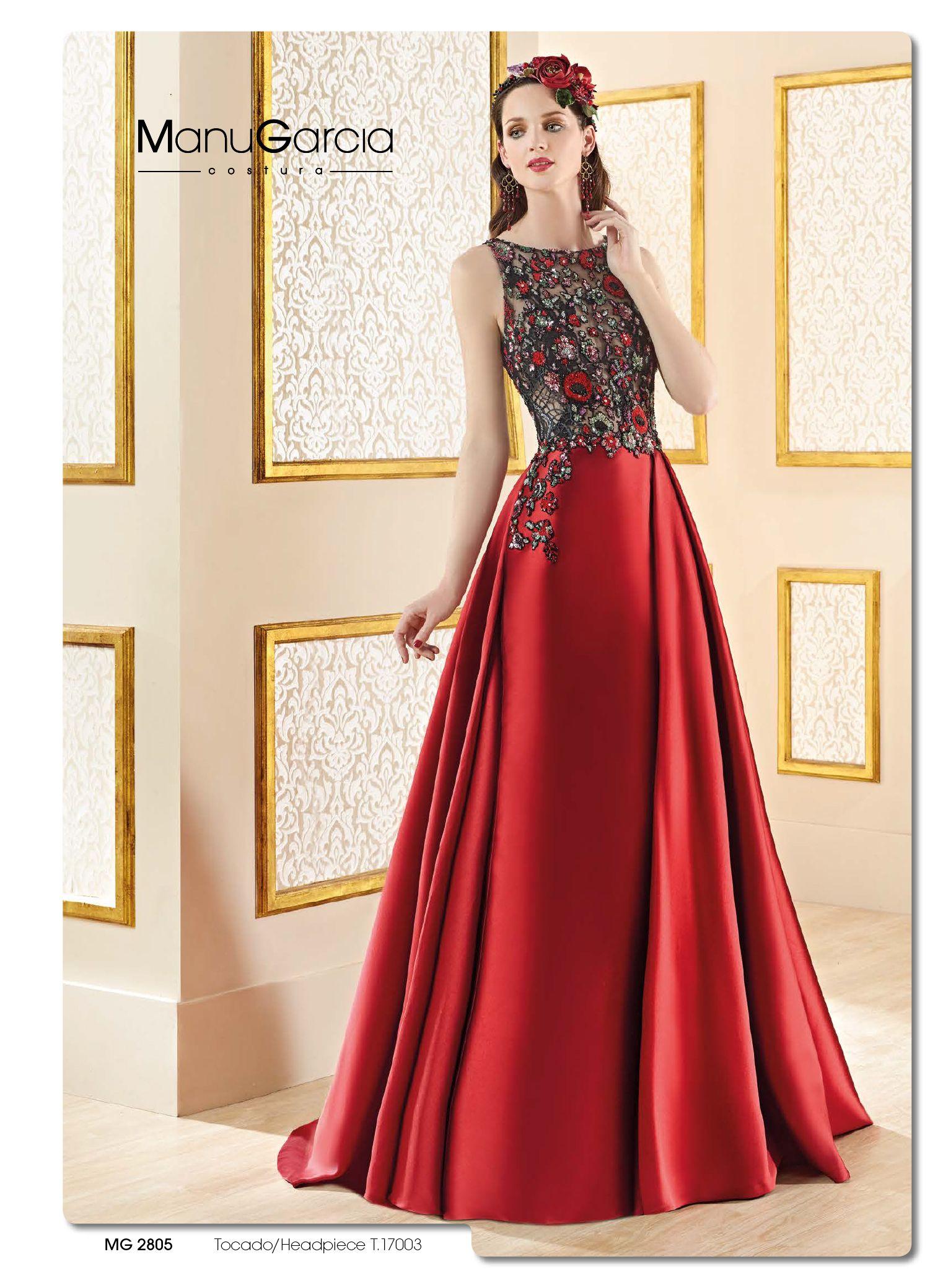 Realmente espectacular manugarcia eventdress fashion
