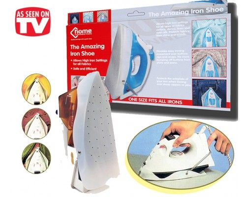 Silicon Iron Shoe, protect your clothes from being burned: http://www.bhaap.com/buy-silicone-iron-cover.html