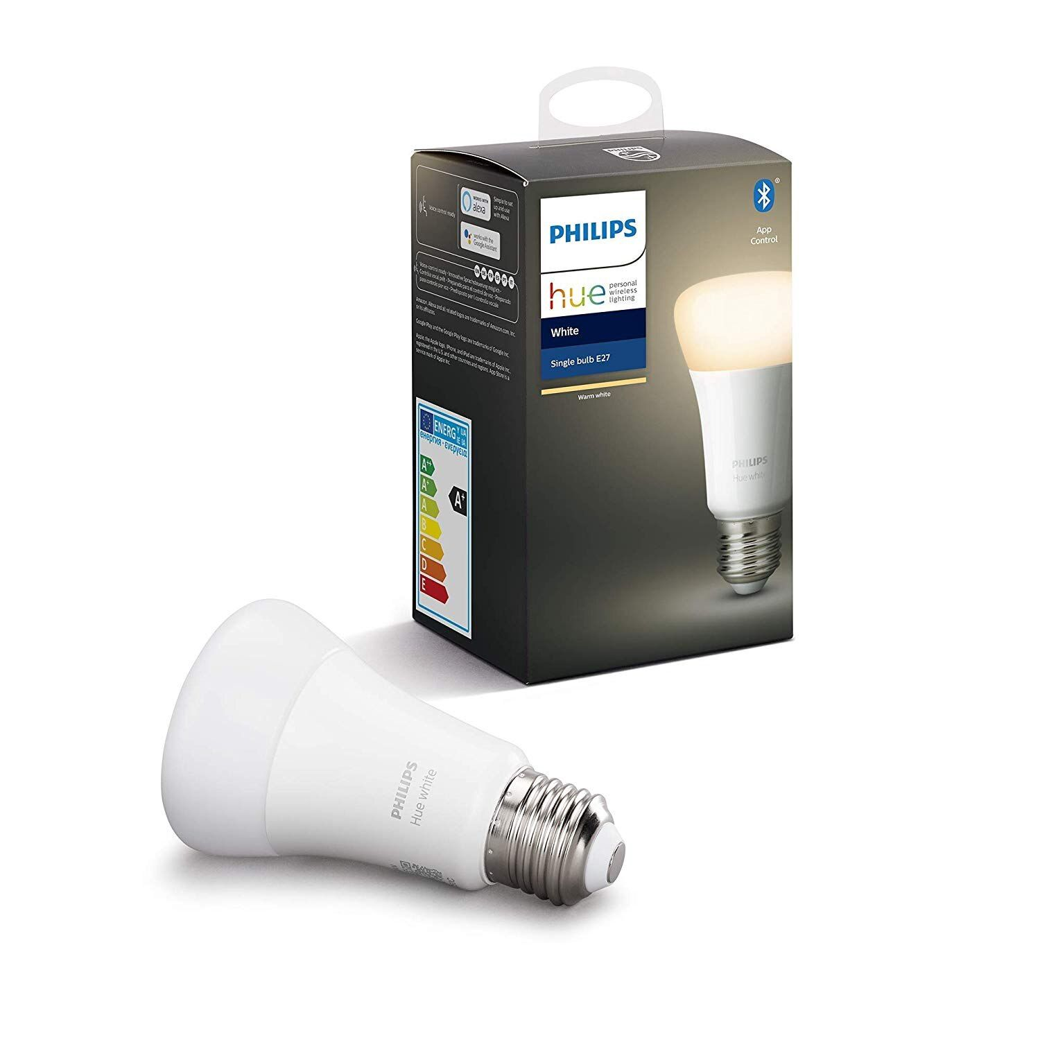 Philips Hue White Bombilla Led Inteligente E27 Luz Blanca Calida Attention Valid Discount 0 Buy Now For 19 95 V 2020 G