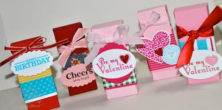 Pretty Homemade Gift Boxes templates  tutorials Homemade gift