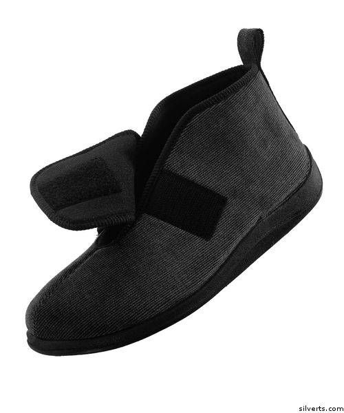 8a1d5edd1fb0 Comfortrite Wide Slippers For Men - Extra Wide Extra Deep Fit - Up To Size  14
