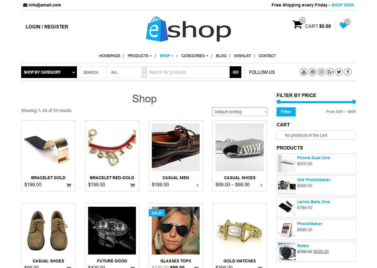 40 Best Free Themes for WordPress