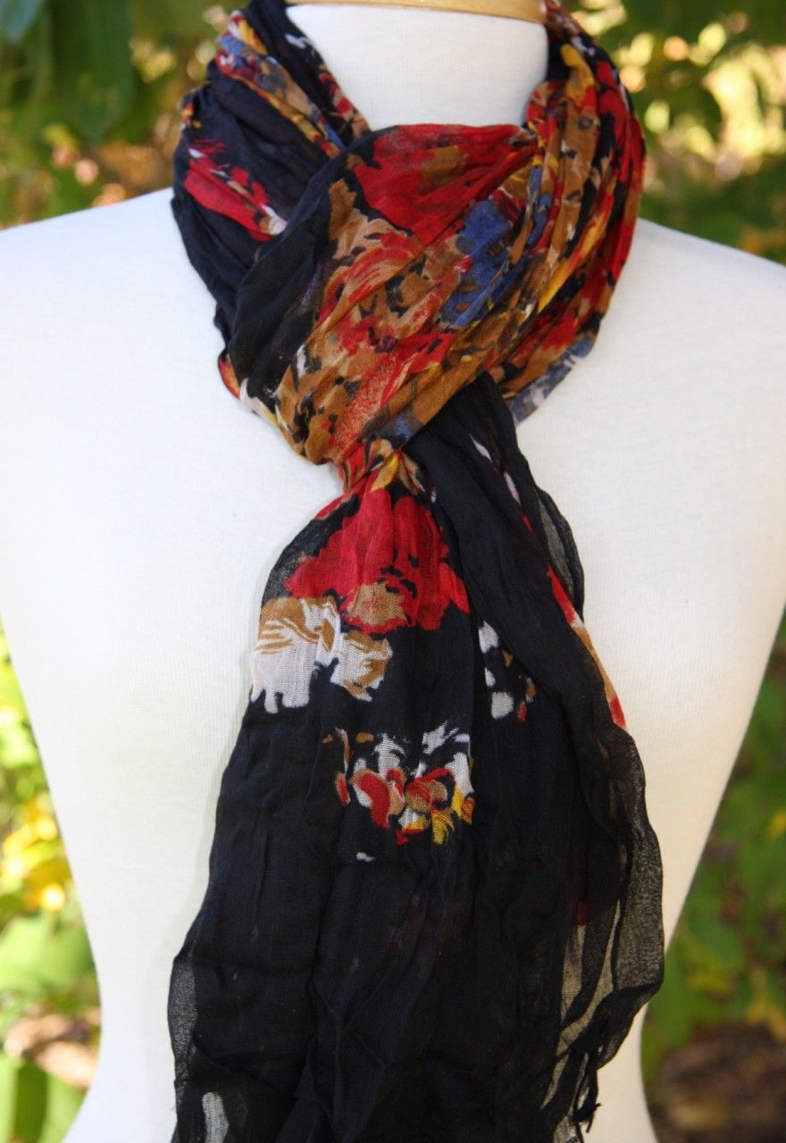 Beautiful 100% cotton scarves!