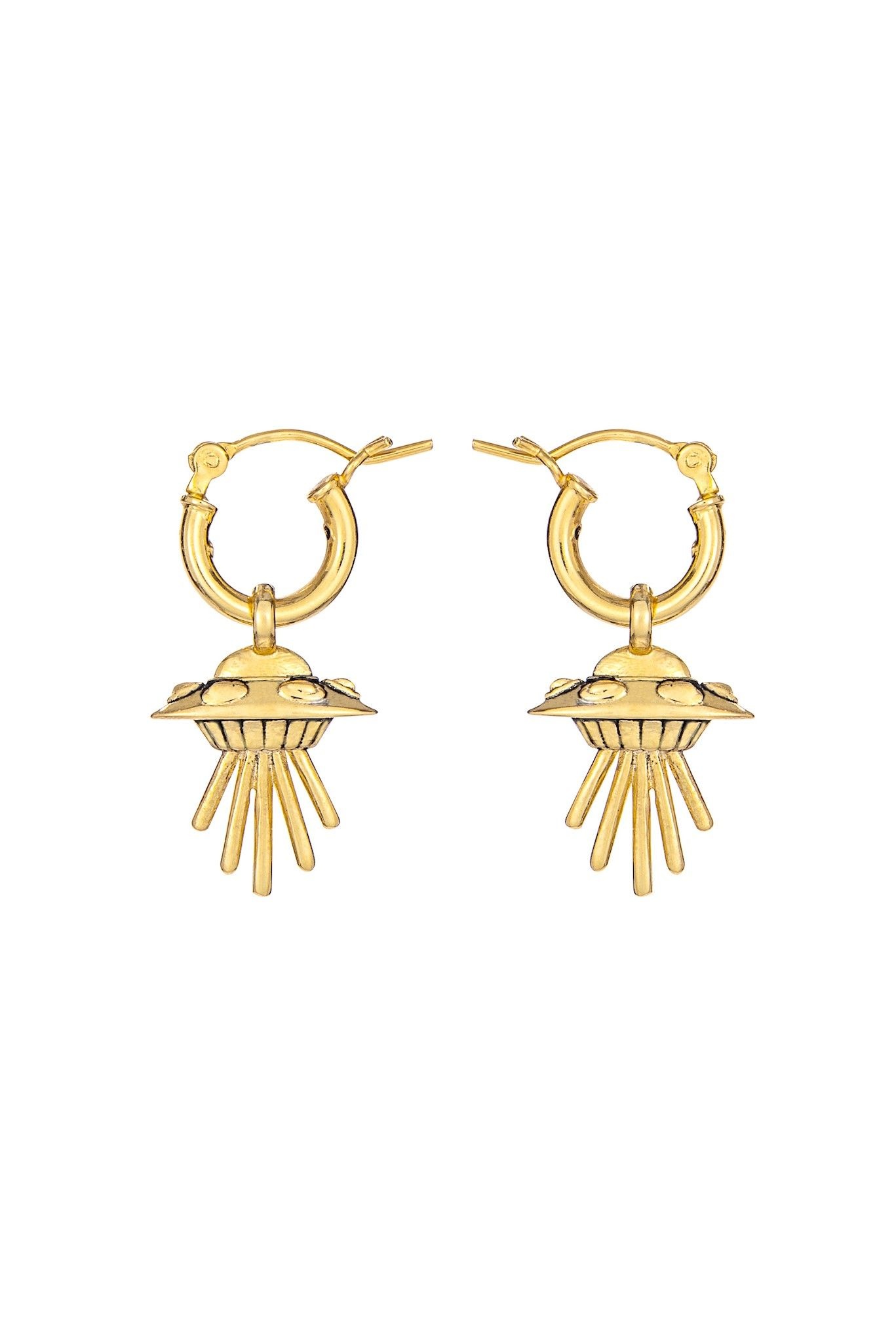 e95ec8a20 Small Flying Saucer Earrings | Little Rooms | Earrings, Jewelry ...