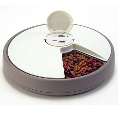Automatic Petdish Six Day Pet Feeder Skymall Inc