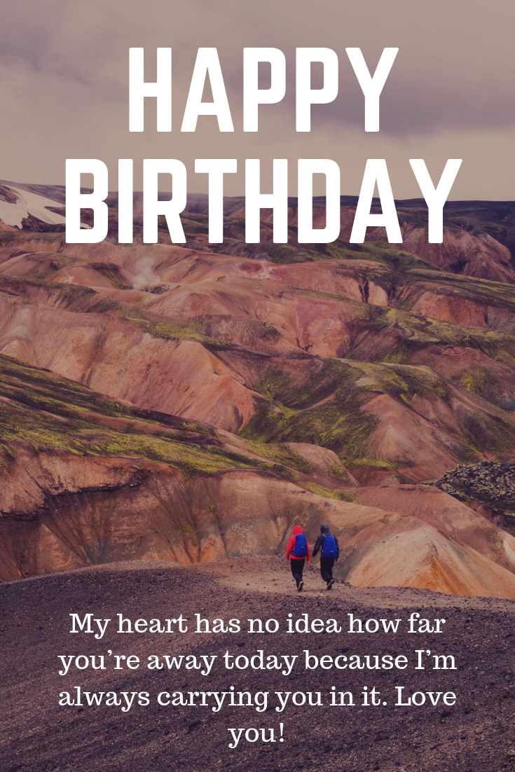 Long Distance Birthday Wishes Happy Birthday Wishes Images Birthday Wishes And Images Happy Birthday Images