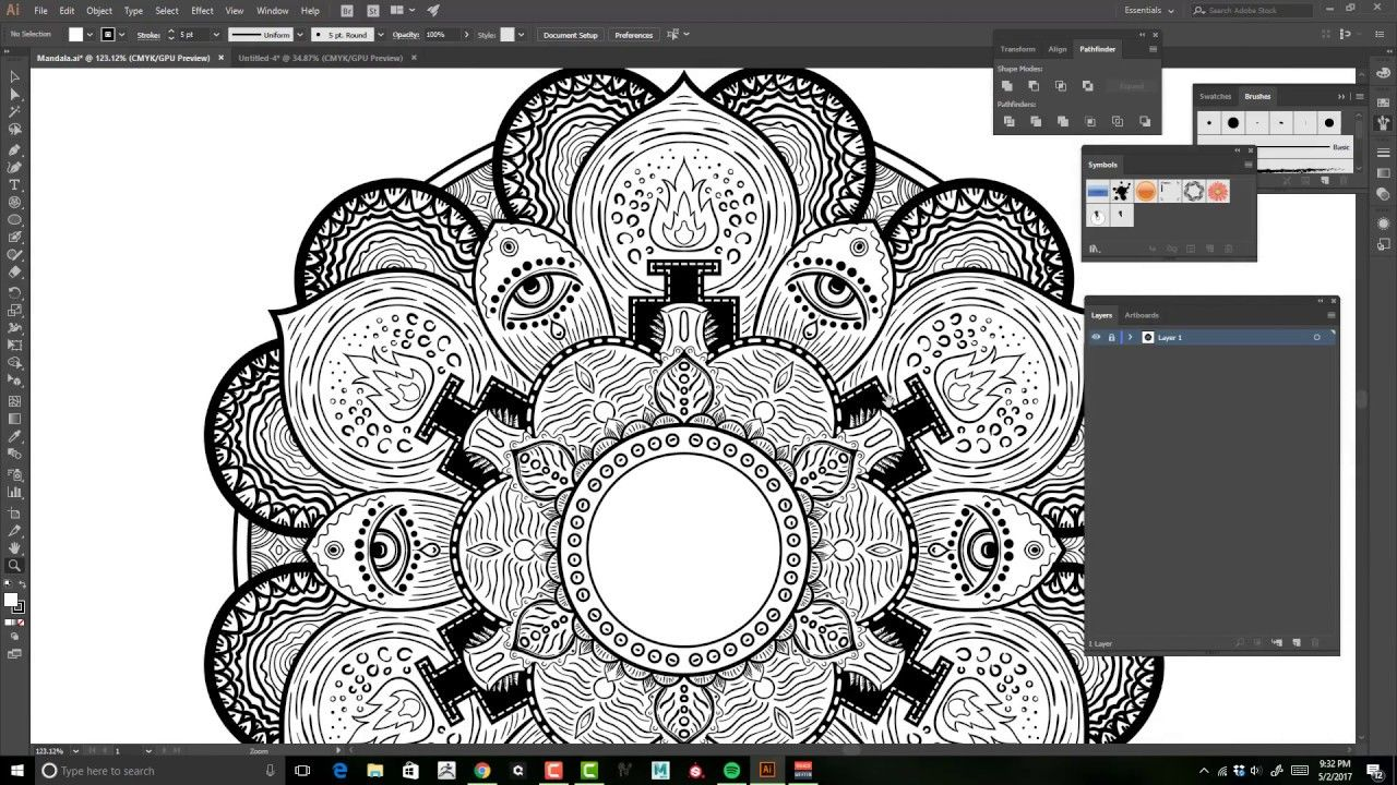 Creating a Mandala in Illustrator Step by Step (With
