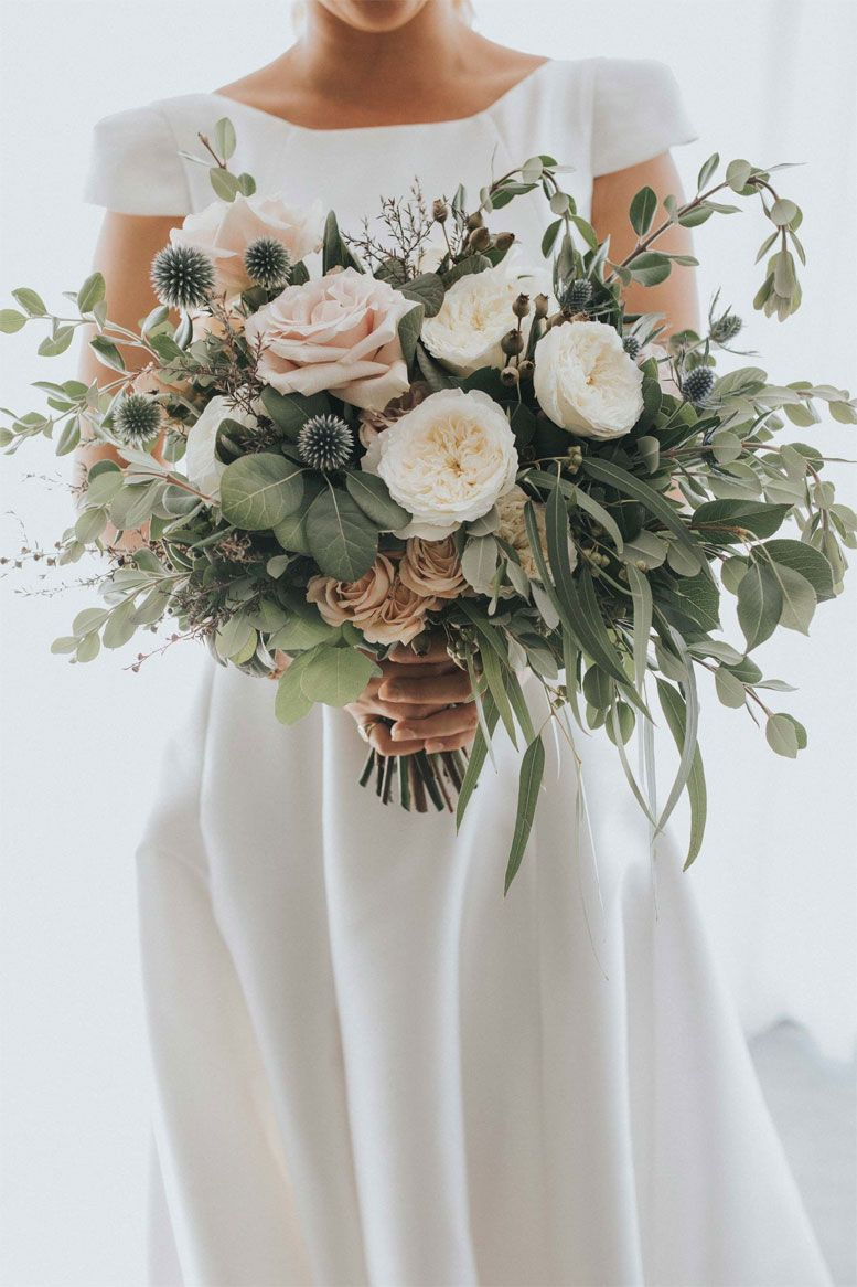 22 Fabulous Sage wedding ideas – Wedding bouquet