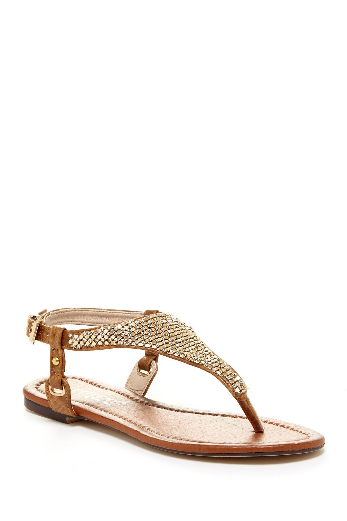 970c94b060f5 brown + gold thong sandals (footwearr