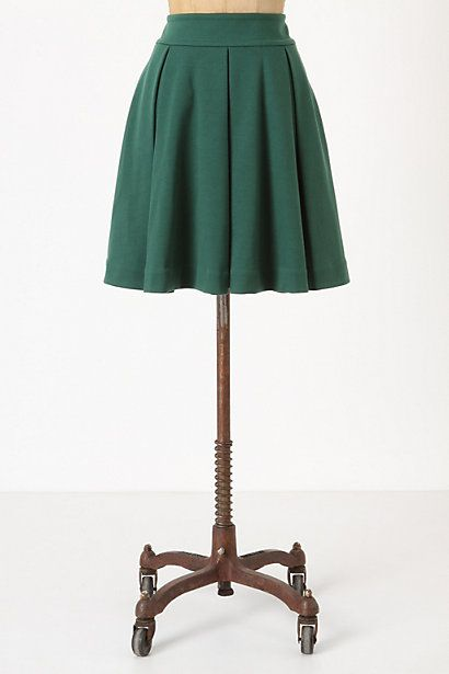 such a pretty color skirt
