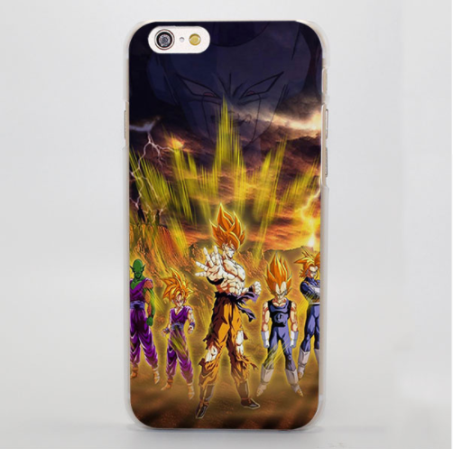 Samsung Galaxy Note 4 IV Anime Phone case DBZ Dragon Ball Z Goku