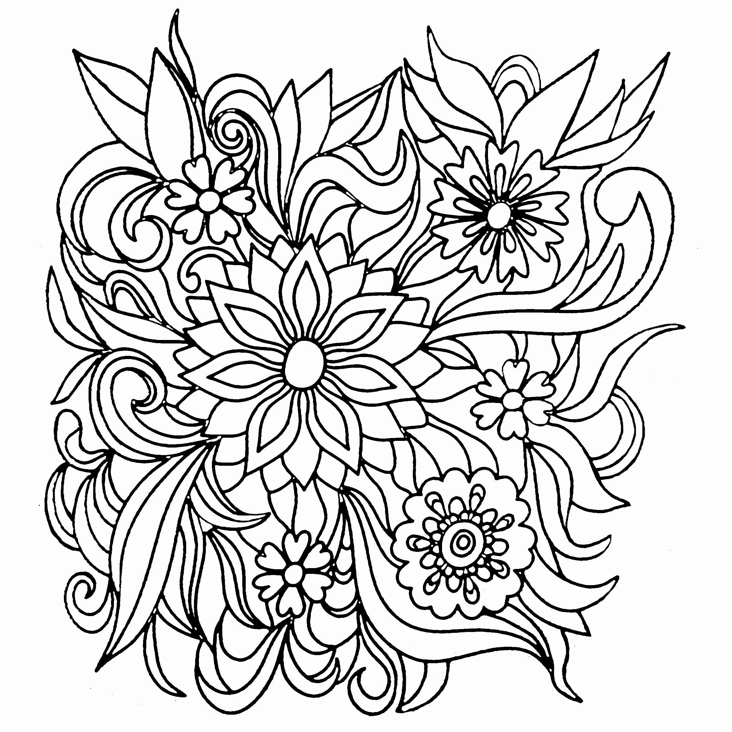 - 32 Adult Coloring Book Flowers In 2020 Flower Coloring Pages