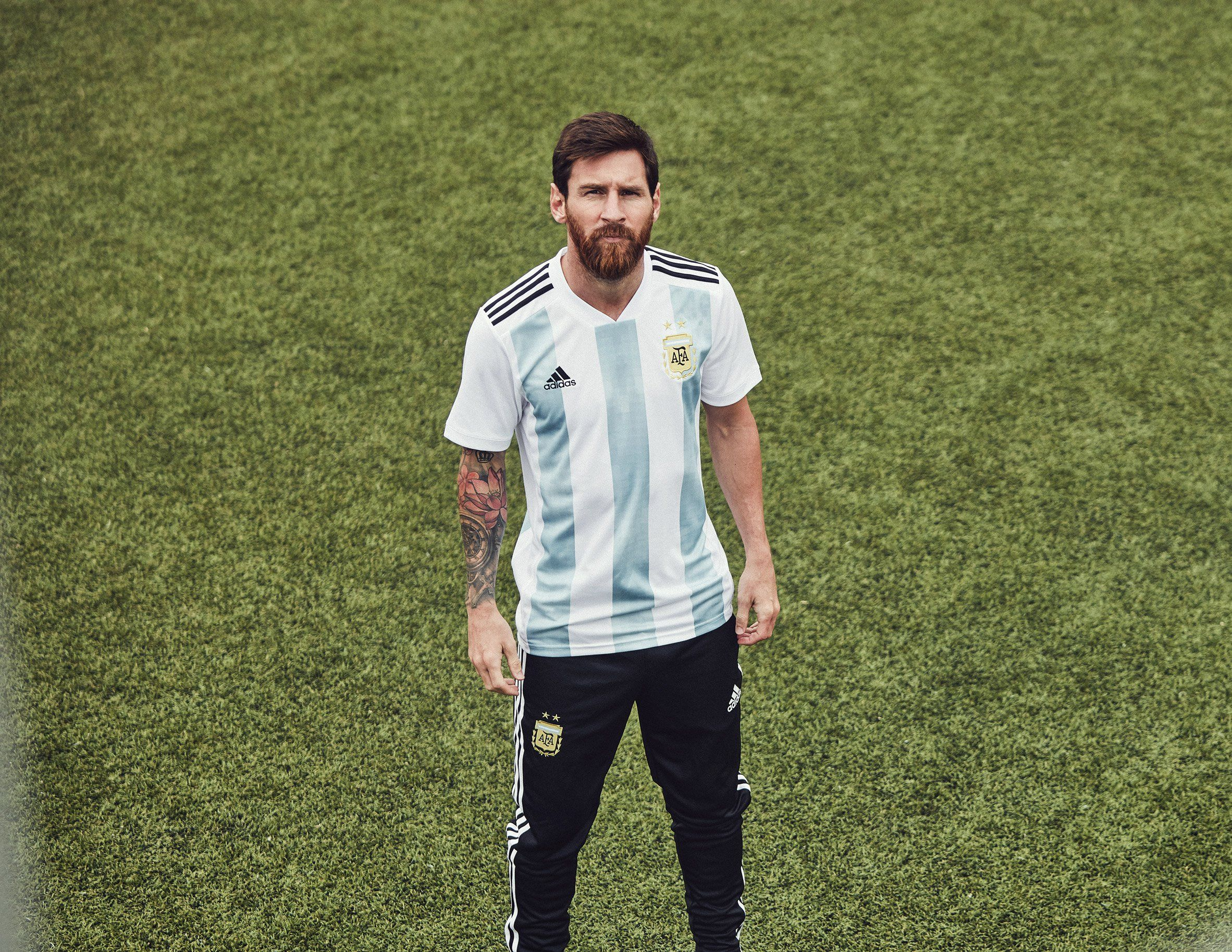 4cfa9d25d12 Adidas unveils World Cup kits that pay homage to classic football shirts