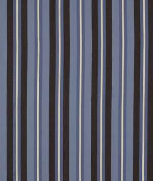 Robert Allen @ Home Oceanside Stp Harbor Blue Fabric