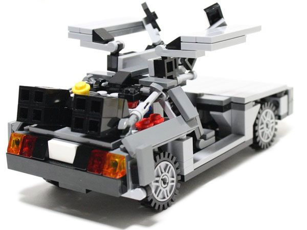 Delorean Dmc 12 V4 0 Custom Lego Set Lego Obsessed
