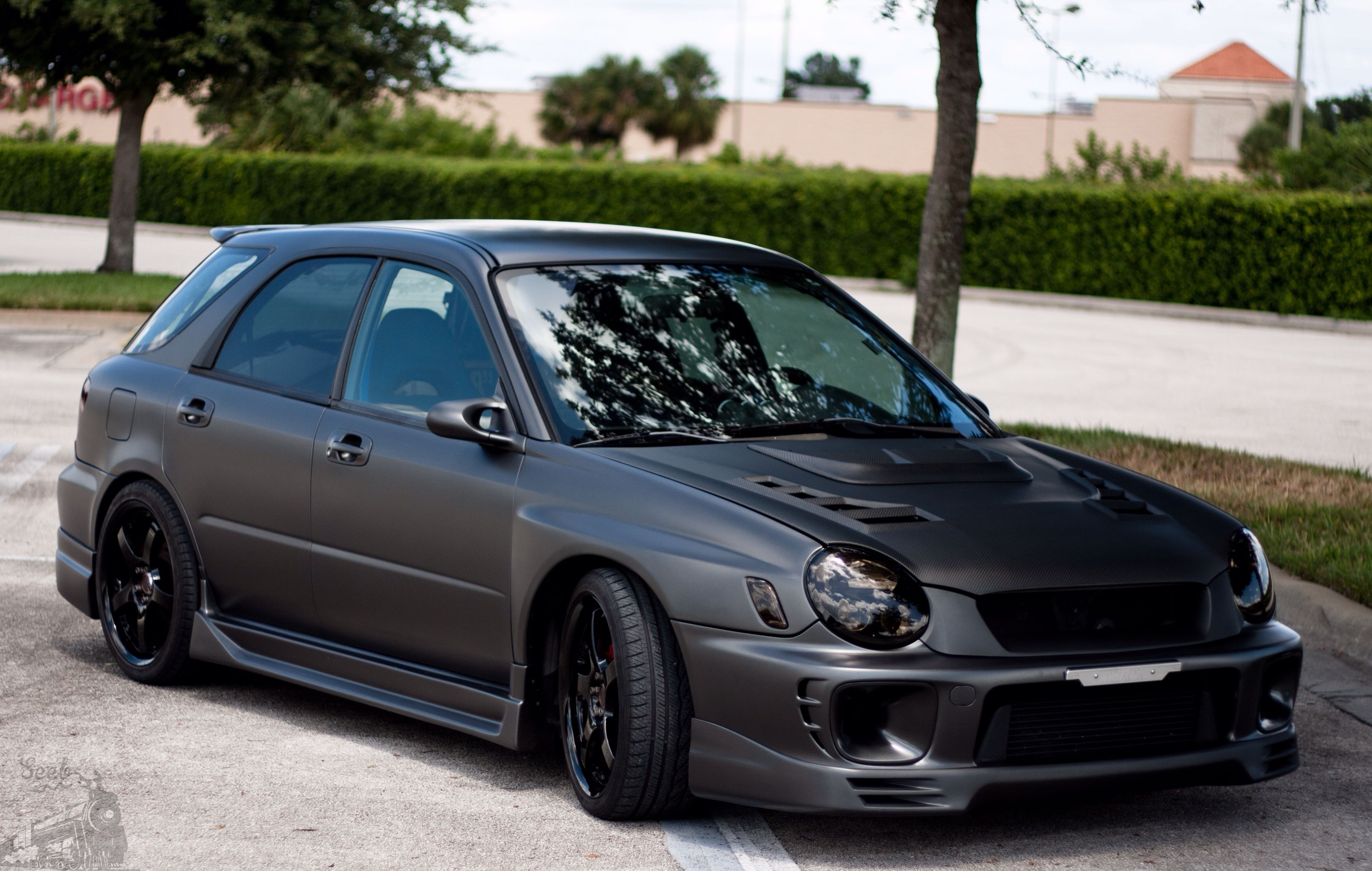 Flat Black Bug Eye Subaru Bugeye Wrx Wrx Wagon Subaru Cars Subaru Wrx Wagon