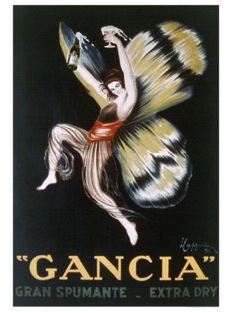 Leonetto Cappiello, Gancia Gran Spumenta