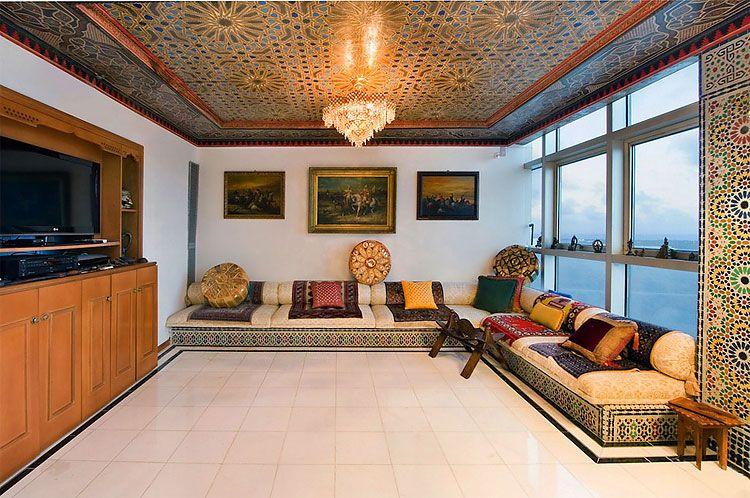 Palace of the Mughal Arabic interior 5