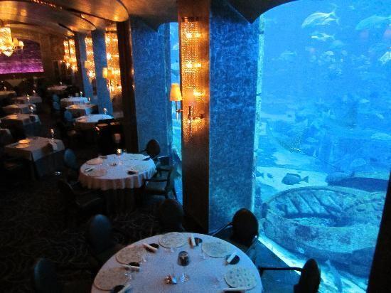 Restaurant Ossiano Atlantis Hotel Dubaï