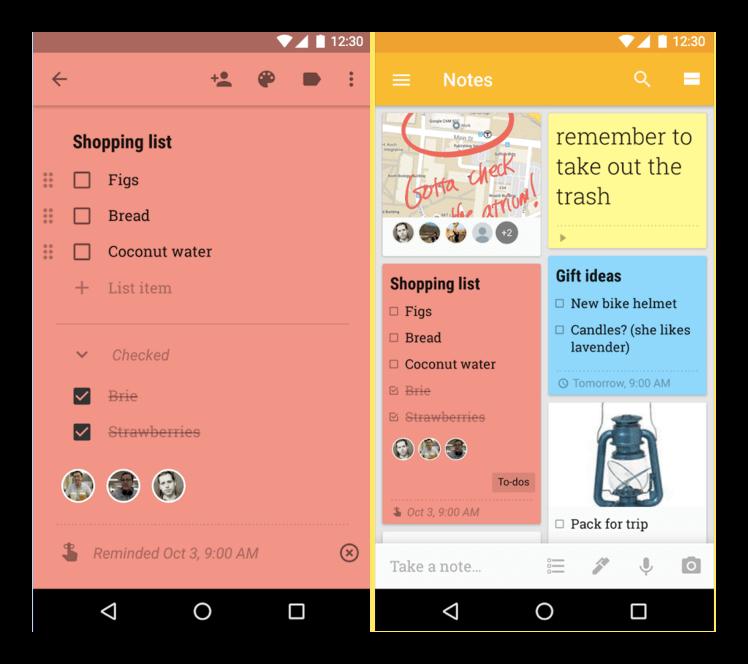 Son las mejores aplicaciones notas, mejor app de lista de tareas con ...