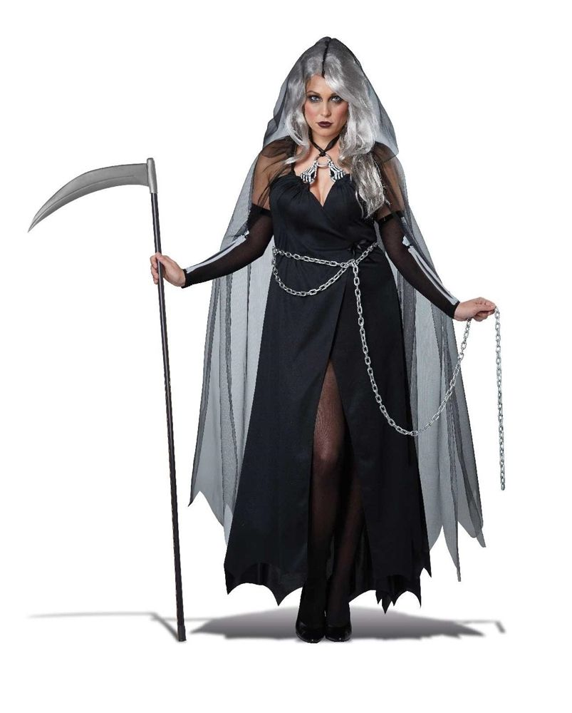 Lady Reaper Adult Women Plus Size Costume