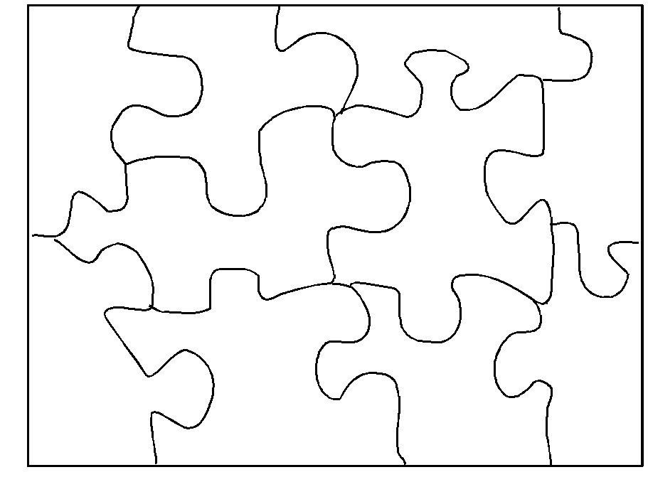 Making Diy Jigsaw Puzzles Piece By