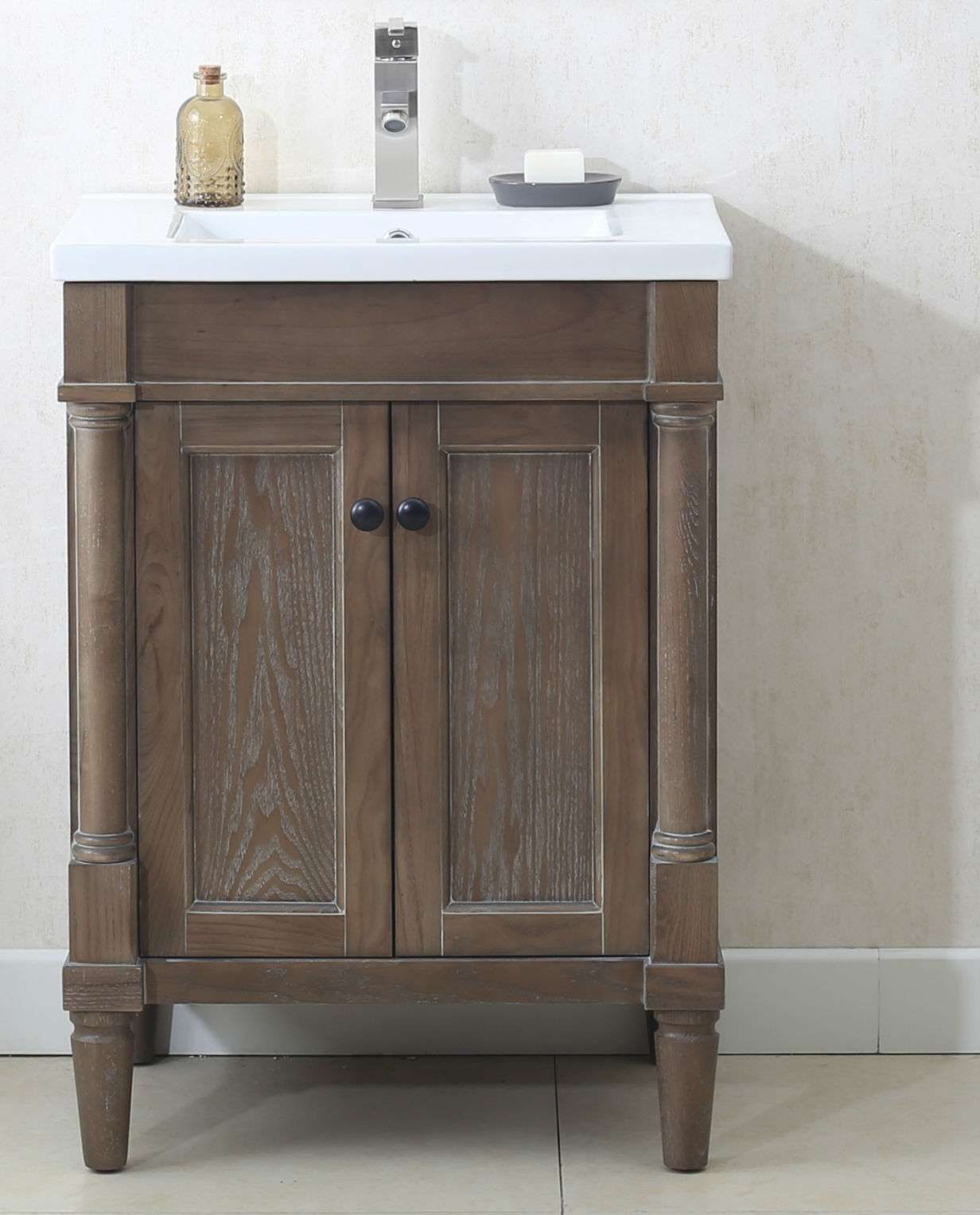 Lowest Price On Legion Furniture 24 Weathered Gray Sink Vanity Wlf7021 Today