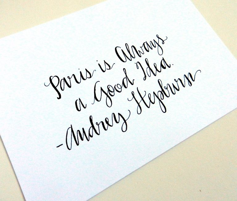 17 Best images about Modern Calligraphy on Pinterest | Calligraphy ...