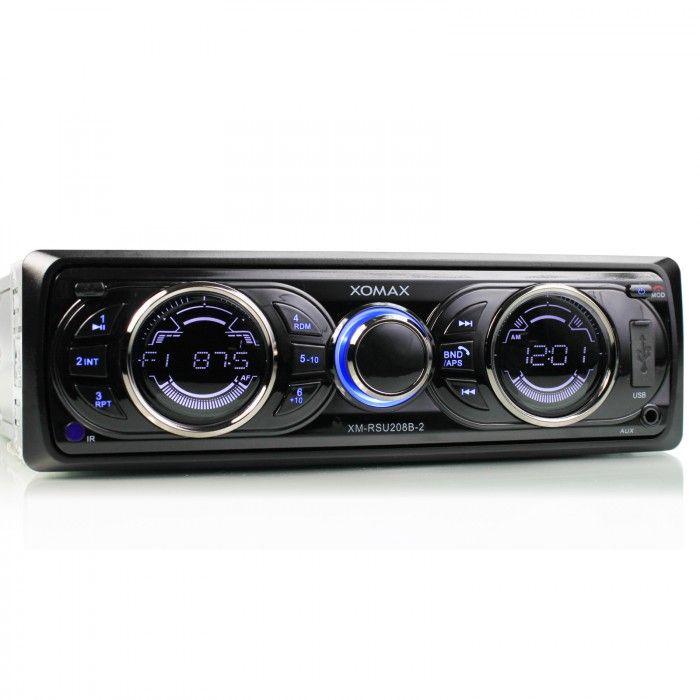 xomax xm rsu208b 2 autoradio mit bluetooth freisprecheinrichtung. Black Bedroom Furniture Sets. Home Design Ideas