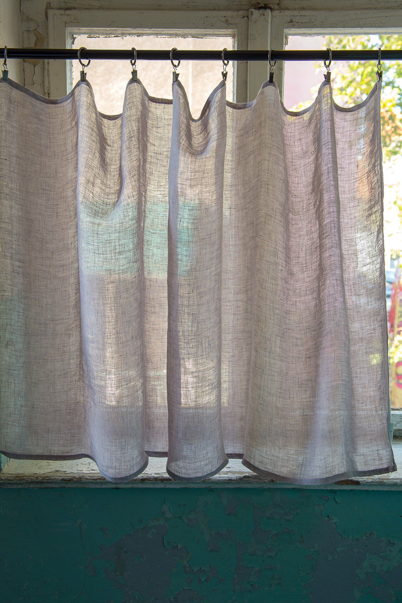 Lniana Delikatna Firana Zazdrostki Do Kuchni Zaslonki Do Kuchni Lniane Firanki Do Kuchni Z Lnu Biale Lniane Zaslony Do Kuchni Cafe Curtains Curtains Bathroom Windows