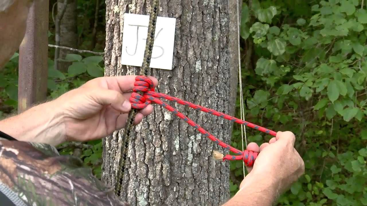 Total Outdoorsman: Rig a Treestand Safety Line
