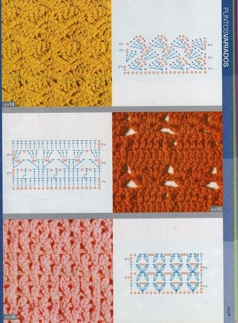 Revista de Crochet Gratis, Guía práctica de puntos - Revistas de manualidades Gratis