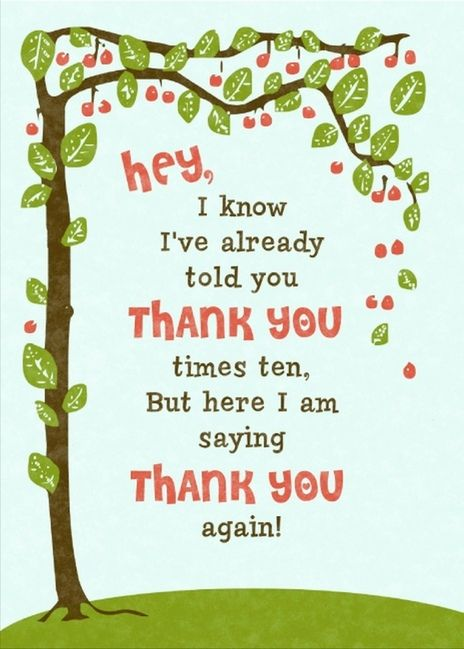 Great Thank You For Your Referral Card You Can Add A Gift Or Gift