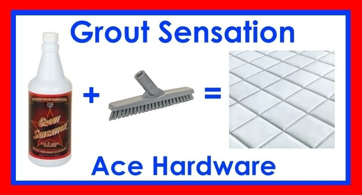 Pin on Grout Sensation/Ace Hardware/Grout Cleaner/Grout ...