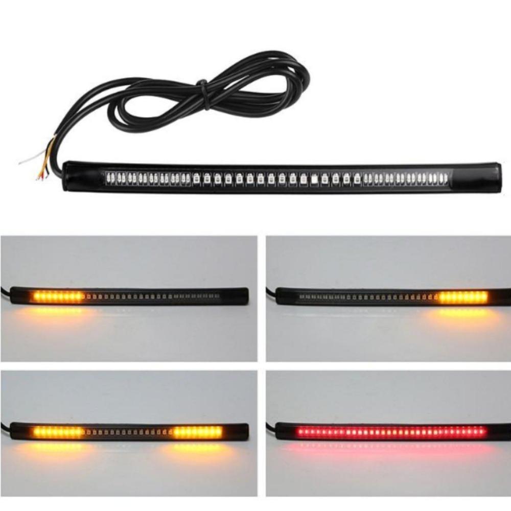Motorcycle Light Bar Strip Motorcycle Lights 12v Led Lights Strip Lighting