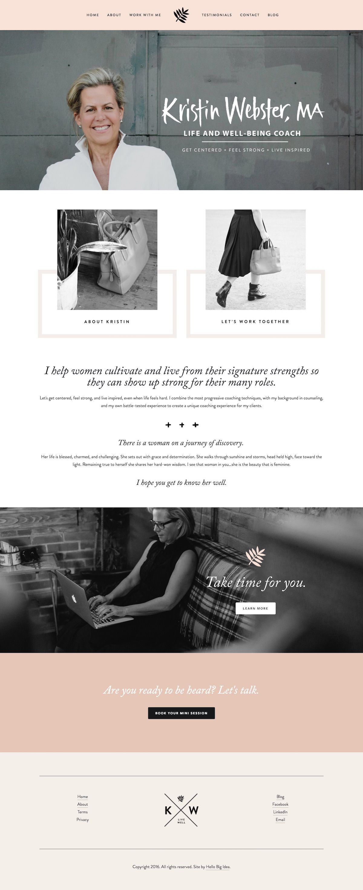 10 Best Example Squarespace Websites Feminine Edition With