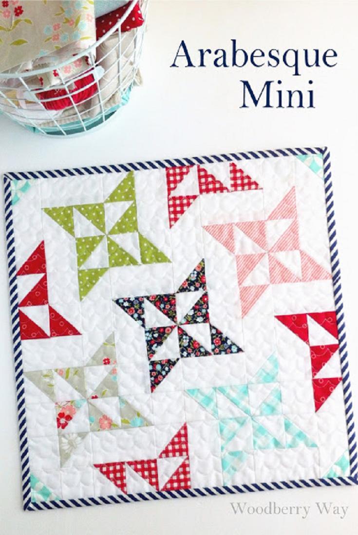 Free Mini Quilt Patterns New Design