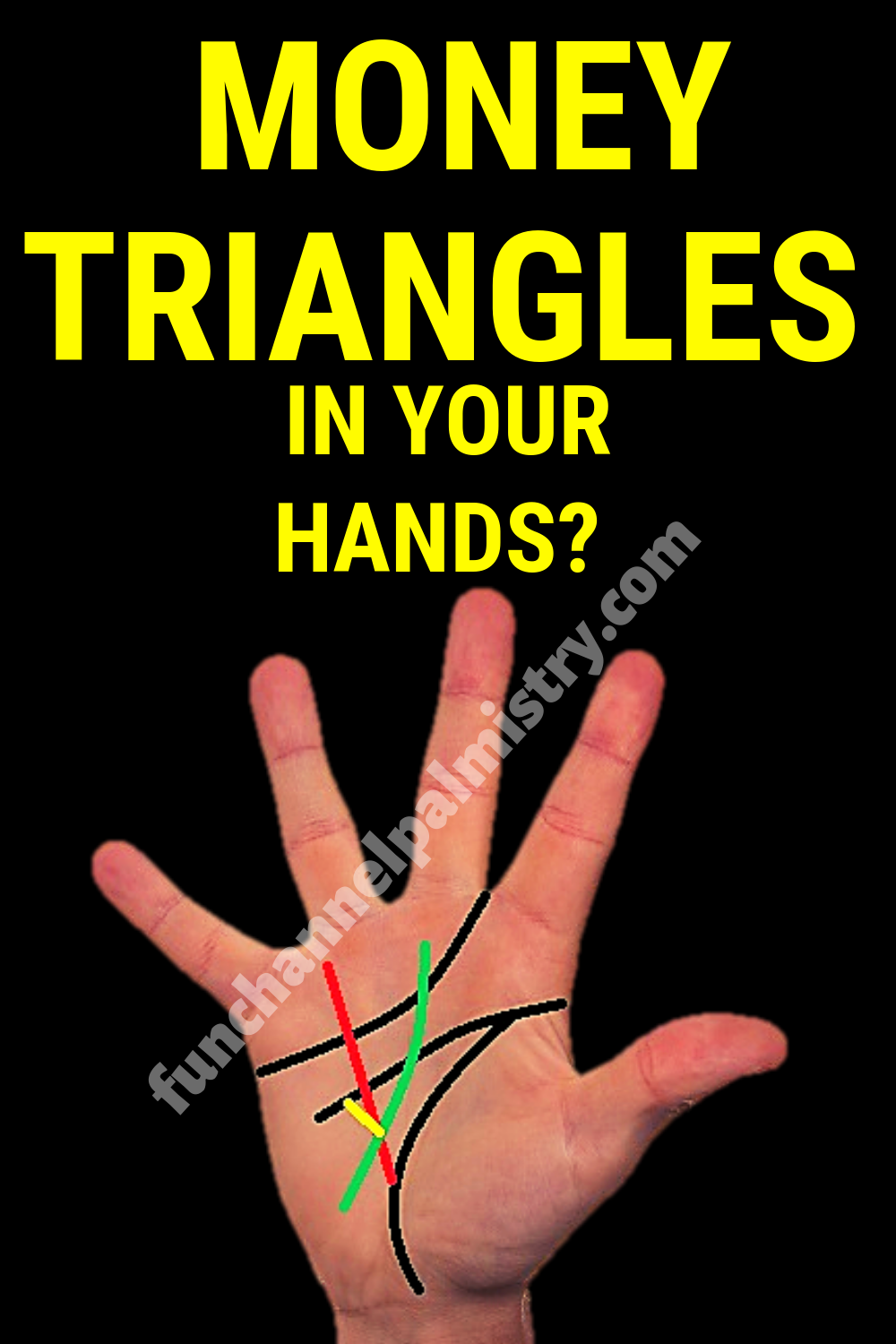 Do You Have These Money Triangles In Your Hands Palmistry Palmistry Palm Reading Money