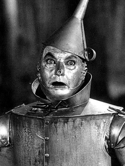jack haley as the tin man in mgms quotwizard of ozquot 1939