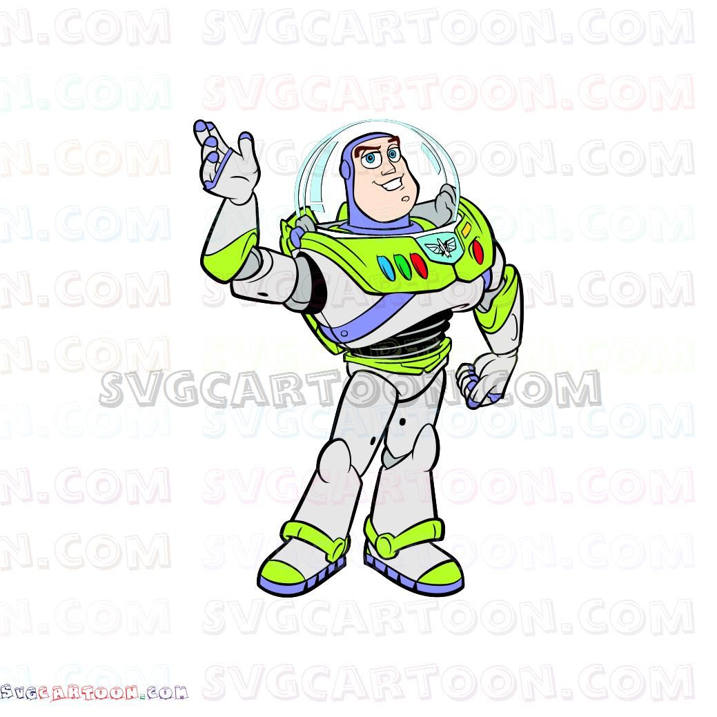Buzz Lightyear Toy Story Svg Dxf Eps Pdf Png Buzz Lightyear Coloring Books Lightyears